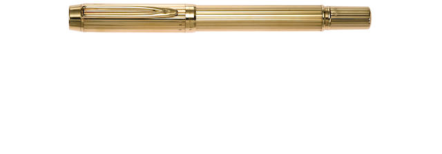 WATERMAN: Ideal Solid Gold Fountain Pen