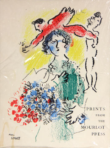 PICASSO, PABLO, MARC CHAGALL, et al., illustrators. Prints from the Mourlot Press. [Paris: Mourlot, 1964.]