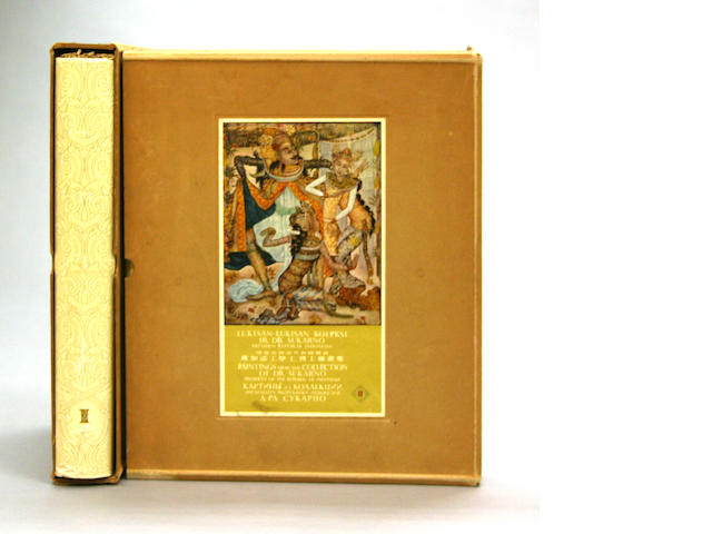 An illustrated two-volume set on the Sukarno art collection