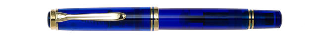 PELIKAN: Blue Ocean Limited Edition 5000 Fountain Pen