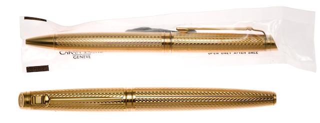 CARAN D'ACHE: 70th Anniversary Geneve Private Collection Limited Edition 2000 Fountain Pen & Ballpoint