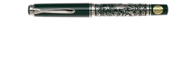 PELIKAN: Hunting Limited Edition Fountain Pen