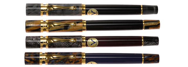 VISCONTI: Four Seasons (Le Stagioni) Lot of Four Limited Edition 300 Fountain Pens
