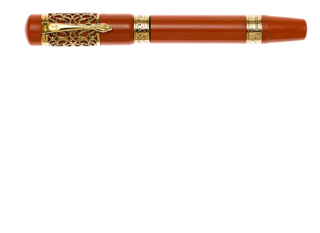 ANCORA: 80th Anniversary Gold Limited Edition 33 Fountain Pen
