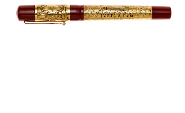 DELTA: Jubilaeum 2000 18K Gold Limited Edition 150 Fountain Pen