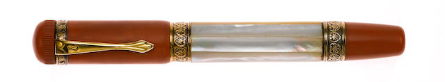ANCORA: Paua Limited Edition 888 Fountain Pen Variant
