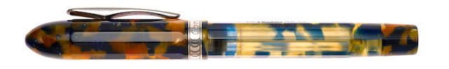 CONKLIN: Nozac Word Gauge Limited Edition 898 Pair of Fountain Pens