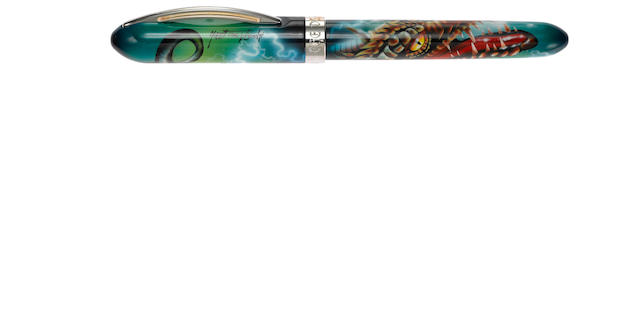 VISCONTI: The Dragon Limited Edition 888 Fountain Pen