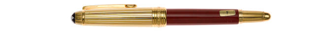MONTBLANC: Meisterstück Hommage a Wolfgang Amadeus Mozart Coral Fountain Pen