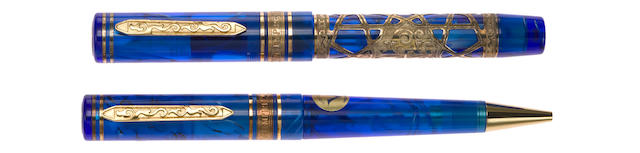 VISCONTI: Empire Vermeil Limited Edition Fountain Pen & Ballpoint