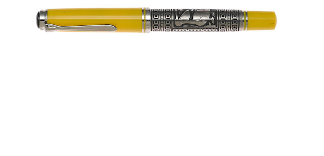 PELIKAN: Toledo Yellow Fountain Pen