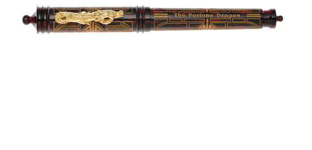 VISCONTI: Fortune Dragon Vermeil Limited Edition 888 Fountain Pen