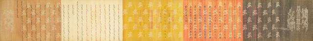 Anonymous (19th century) An Imperial Edict, Daoguang period (1821-1850)