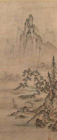 Anonymous (16th/17th century)<BR />Landscape