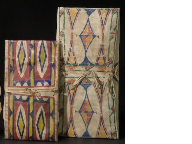 Two Plains parfleche envelopes