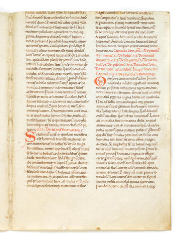 LEAVES— ETYMOLOGIAE. ISIDORE OF SEVILLE. c.560-636.