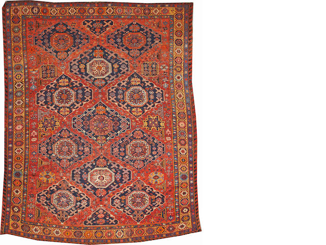 A Soumak carpet Caucasus approximately 10ft. 2in. x 13ft. 3in.