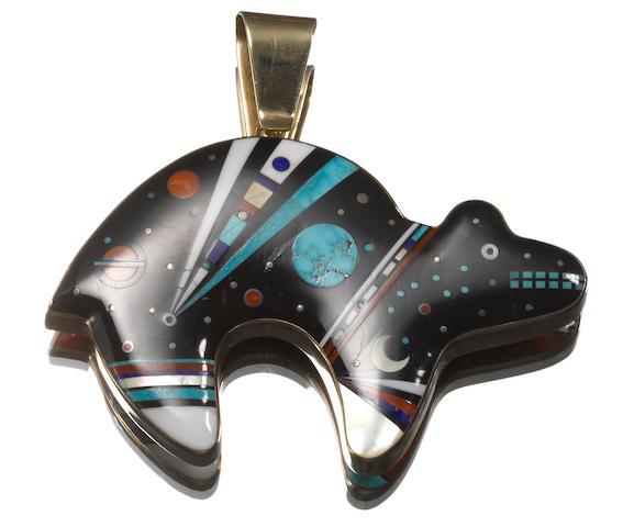 A Navajo pendant