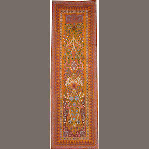 A Termeh hanging size approximately 2ft. 10in. x 8ft. 10in.