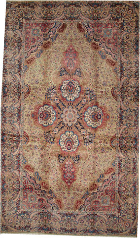 A Kerman carpet  South Central Persia size approximately 11ft. 8in. x 19ft. 8in.