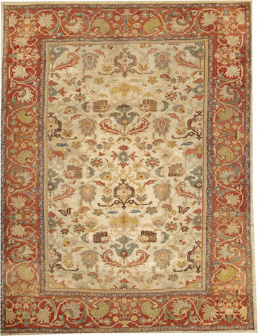 A Sultanabad carpet  Central Persia size approximately 8ft. 9in. x 11ft. 4in.