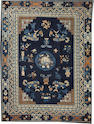 A Chinese carpet  China size approximately 9ft. 6in. x 12ft. 3in.
