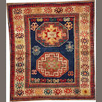 A Kazak rug (rug is cut and reduced) Caucasus size approximately 4ft. 11in. x 5ft. 9in.