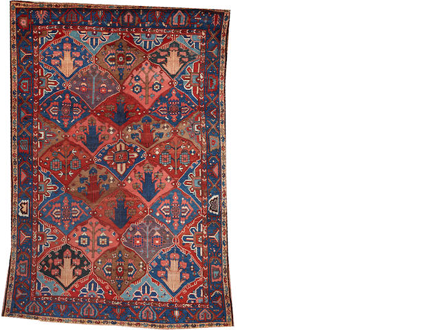 A Bakhtiari carpet  Southwest Persia size approximately 6ft. 9in. x 9ft. 10in.
