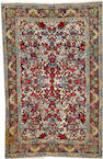 A Isphahan long carpet  South Central Persia size approximately 6ft. 4in. x 10ft.