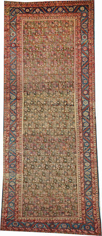 A Bakshaish runner Northwest Persia size approximately 5ft. 11in. x 14ft. 7in.