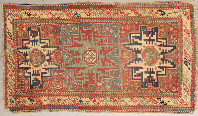 A Shirvan rug size approximately 5ft. 10in. x 3ft. 5in.