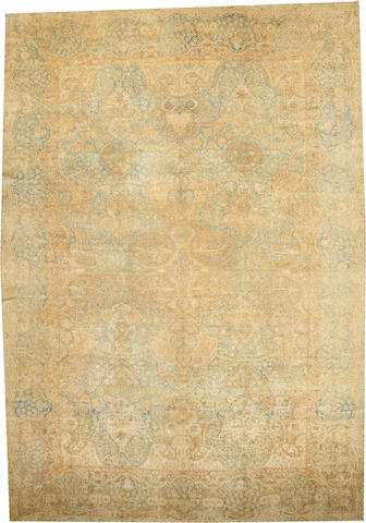 A Kerman carpet South Central Persia size approximately 12ft. x 17ft. 6in.