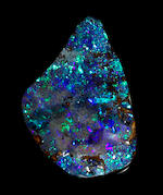 Exceptionally Fine and Large Boulder Opal
