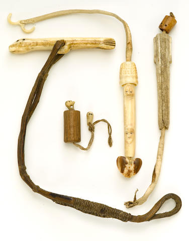 Four Eskimo implements