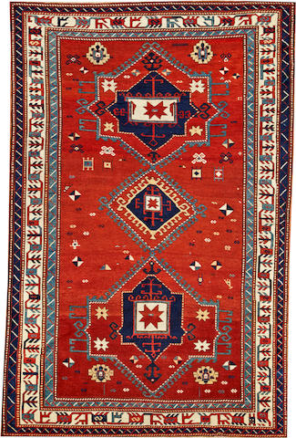 A Kazak rug  Caucasus size approximately 5ft. 10in. x 8ft. 11in.