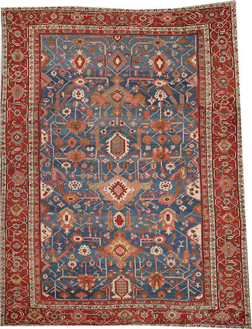 A Serapi carpet  Northwest Persia size approximately 10ft. 5in. x 13ft. 5in.