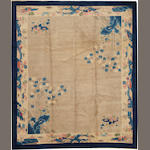 A Chinese carpet  China  size approximately 8ft. 5in. x 9ft. 9in.
