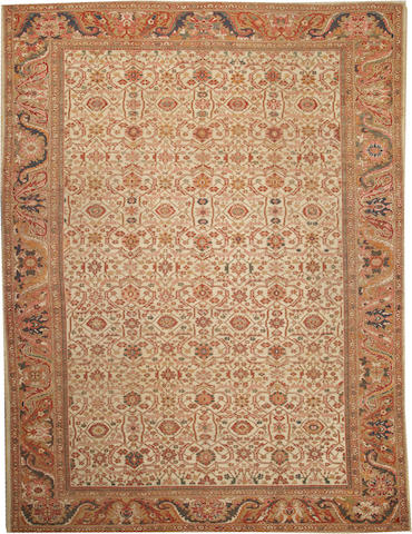 A Sultanabad carpet Central Persia size approximately 10ft. 8in. x 14ft.