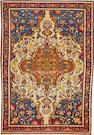 A Malayer rug  Central Persia size approximately 4ft. 4in. x 6ft. 6in.