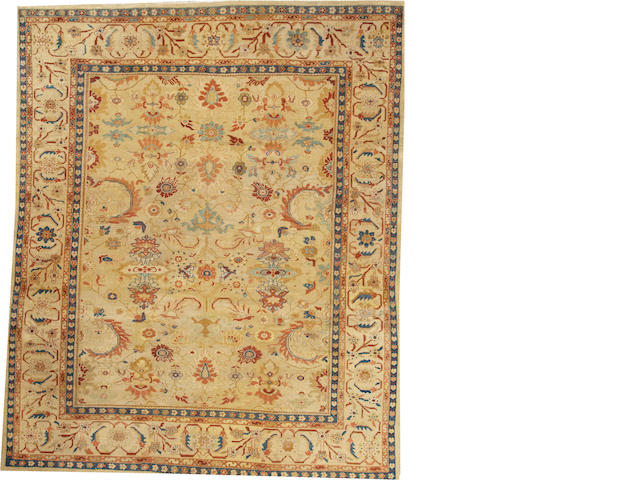 A Sultanabad carpet  Central Persia size approximately 8ft. 7in. x 10ft. 7in.