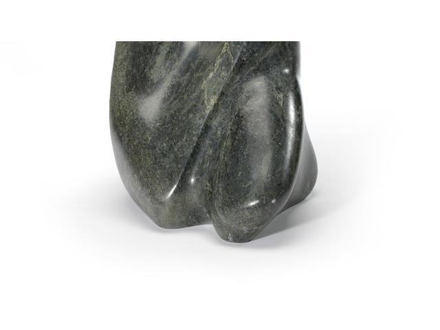 A unique Allan Houser stone sculpture