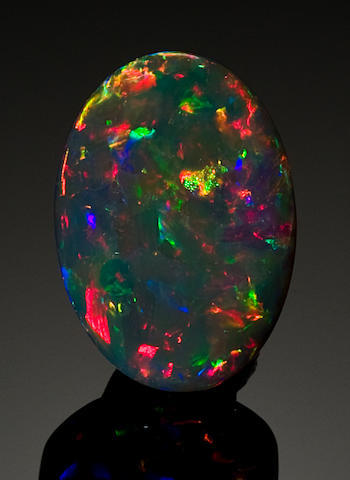 Fine Gem Crystal Opal