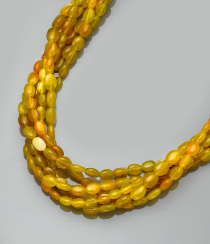 Argentinian Yellow Opal Necklace