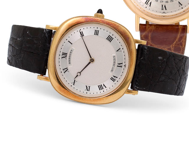 Breguet. An 18K gold automatic wristwatchRef:BA 3160, Case No. 3237, Movement No. 1243