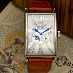 Roger Dubuis. An 18K white gold limited edition automatic wristwatch with perpetual calendar and moonphaseMuch More, Ref:M3457390, Movement No. 174, Case No. 199234, (no. 2 of 28)