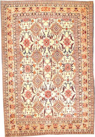 A Kerman Carpet  South Central Persia size approximately 8ft. 8in. x 12ft. 10in.