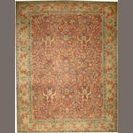 A Tabriz carpet Northwest Persia size approximately 11ft. 5in. x 14ft. 9in.