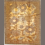 A French Art Deco carpet  France  size approximately 10ft. x 12ft. 2in.