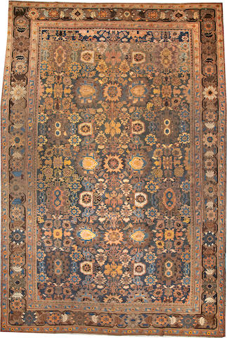 A Sultanabad carpet  Central Persia size approximately 12ft. 2in. x 18ft.