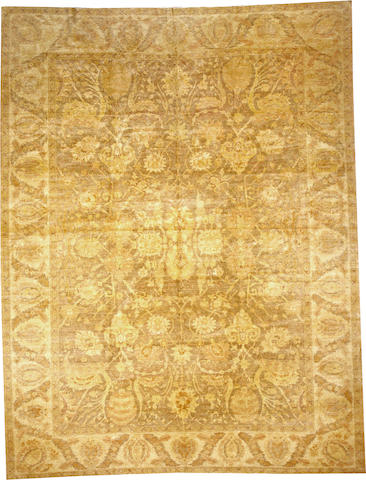 A Contemporary Egyptian carpet Egypt size approximately 10ft. x 13ft.